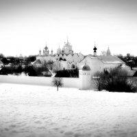 Суздаль. Вид на Покровский Монастырь :: Larisa Ulanova
