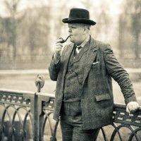 В тихом омуте Черчилль водится :: Dima Rann