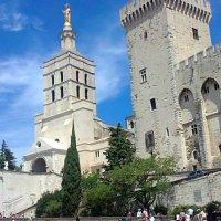Папский дворец в Авиньоне. :: Елена
