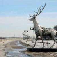 Олень-символ Нижнего Новгорода :: Larisa Ulanova