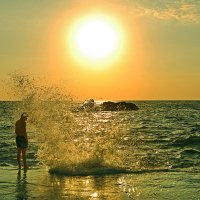 Ты погладь меня волна... :: Александр Бойко