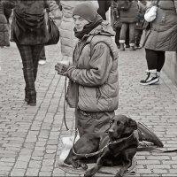 Человек и собака :: Инна Пивоварова