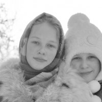 Сестренки :: Людмила Якимова