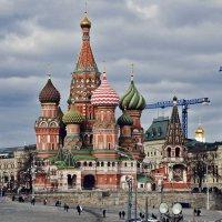 Вечно строящийся город... :: Ирина Шарапова