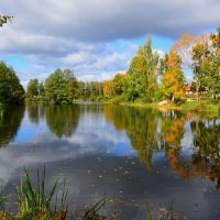 Осенний пейзаж :: Алексей Жуков