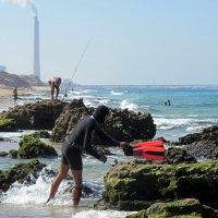 Подготовка к подводной охоте :: Герович Лилия