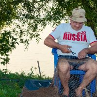 рыбак готовит снасти :: Юлия Шевчук