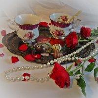 Утренний кофе....с любовью :: Galina Dzubina
