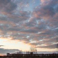Закат над городом :: Герман