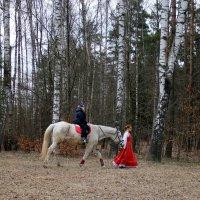 на лошадке :: Ольга
