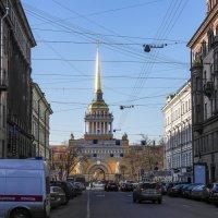 По улочкам Петербурга . Адмиралтейство. :: Андрей Якимюк
