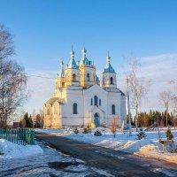 Богоявленский храм в с.Пахотный Угол,Тамбовщина. :: Александр Тулупов