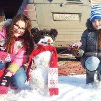 Последний снеговик!Зима прощай! :: Сергей Бажов