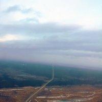 паужин в горах с борта самолёта :: Наталья Золотых-Сибирская