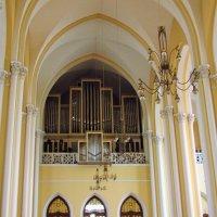 орган в Католическом соборе :: Yulia Sherstyuk