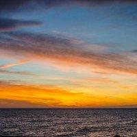 Закат на Черном море :: Вера Кочергина
