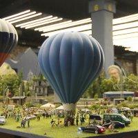 Гранд Макет Россия. Запуск воздушных шаров :: Вера Моисеева