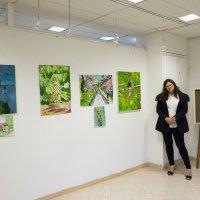 Выставка моей дочери :: Александр Деревяшкин