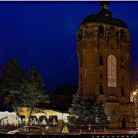 Старинная водонапорная башня в Житомире :: Олег Каплун