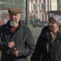 Учитель и ученица. :: Leonid Volodko