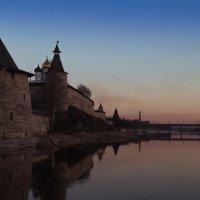 Вечер на Великой :: Николай Густов