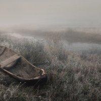 Одиноко старой лодке.. :: Александр Бархатов