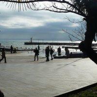 Ялта - Морской пейзаж :: Александр Костьянов