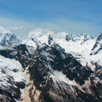 Вершины Домбая весной :: Vladimir 070549