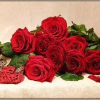 Красная роза - эмблема любви! :: Милена )))