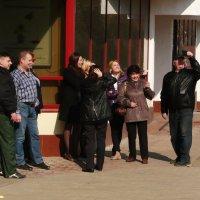 20 марта, солнечное затмение... :: Владимир Холодницкий