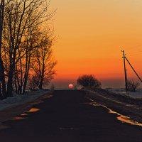 По дороге к солнцу :: Татьяна Губина