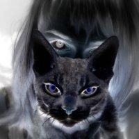 кот в негативе :: Нана Нана