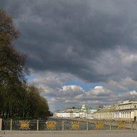 Вид на Фонтанку и Летний сад с Пантелеймоновского моста. :: ТАТЬЯНА (tatik)