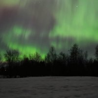 Волшебное полярное сияние 17 марта 2015 года :: Булавин В.