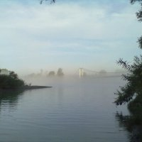 туман, приток Катуни :: Алексей Сотников
