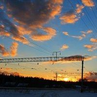 Золотистый закат :: Natusya _ya