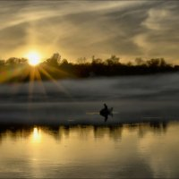 Одинокий рыбак :: Татьяна Кретова