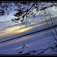 зимний закат.. :: Надежда Шемякина