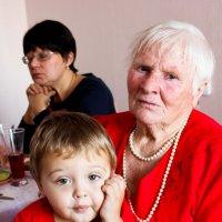Старый и малый :: Юлия Паршакова