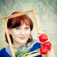 портрет в раме :: Юлия Золотарева