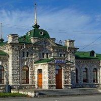 Вокзал из мрамора. :: Вадим Коржов
