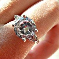 кольцо с бриллиантами :: Dasha Swarovski