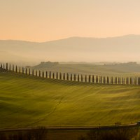 Рассвет, Тоскана :: Iren Kolt