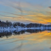 Вот такой закат. :: Igor Yakovlev