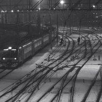 вокзал :: Марина Черепахова