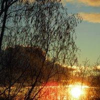 Весенний закат :: Екатерина Снигирева