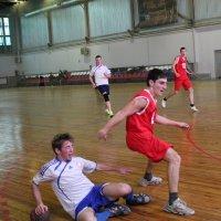 Гандбол - один из веселых и активных видов спорта. :: Юлия Михайлова