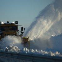 снегоуборочная машина :: Muslim Kenzhebayev
