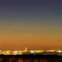 Новосибирск. Комета PANSTARRS :: Дмитрий Николаев
