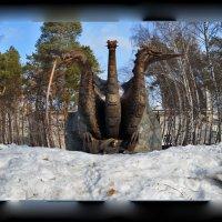 Там царь Кащей под снегом... :: Павел Самарович